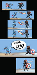 Winter Soldier *hint hint* by MoshYong
