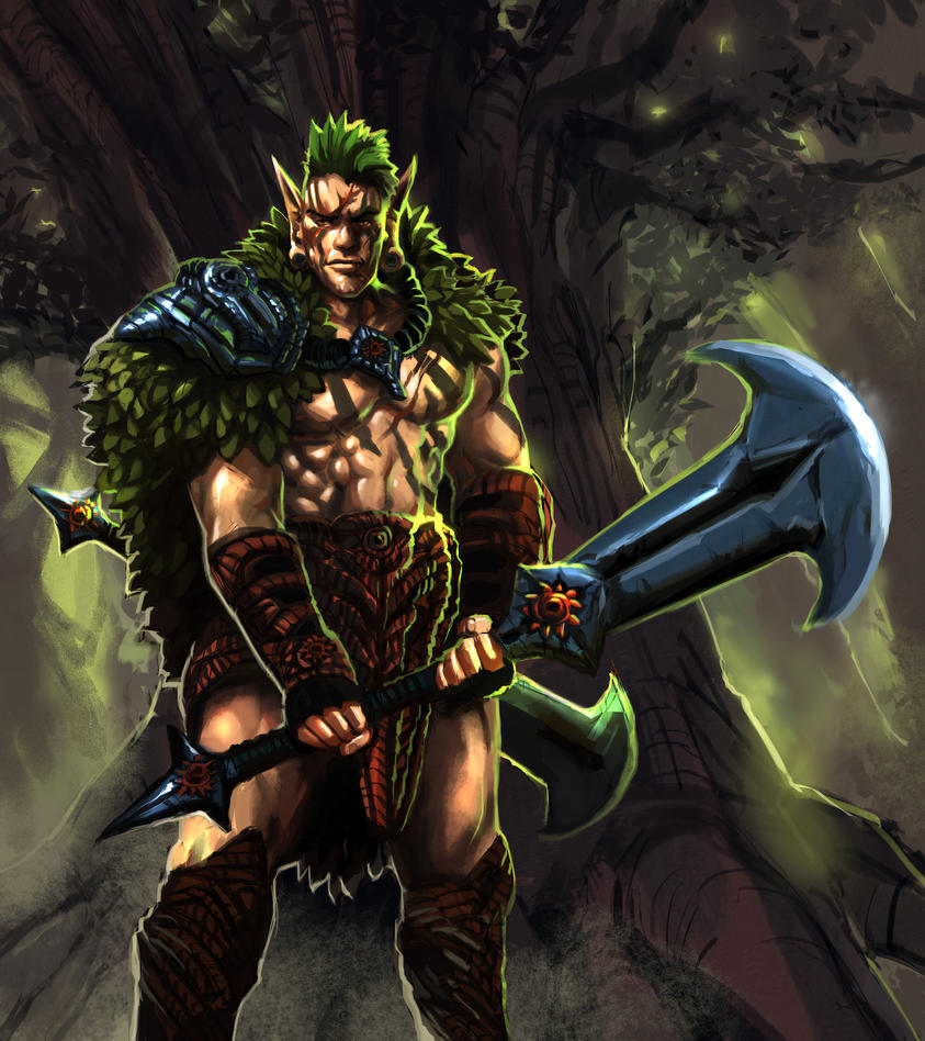 Elf Series : Champion by MoshYong