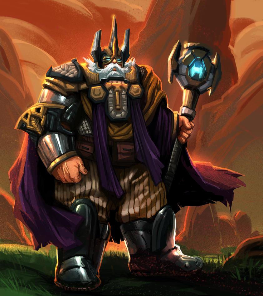 Dwarf Series : Warpriest by MoshYong