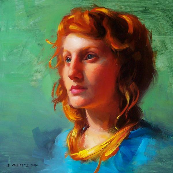 redhead by turningshadow