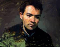 self portrait by turningshadow