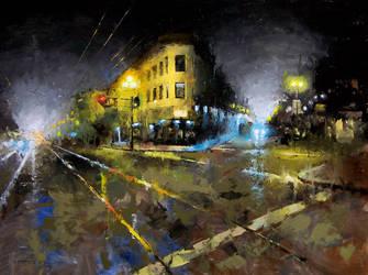 night corner by turningshadow