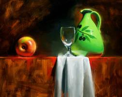 green jug by turningshadow