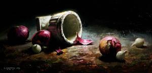 moonlit urn by turningshadow