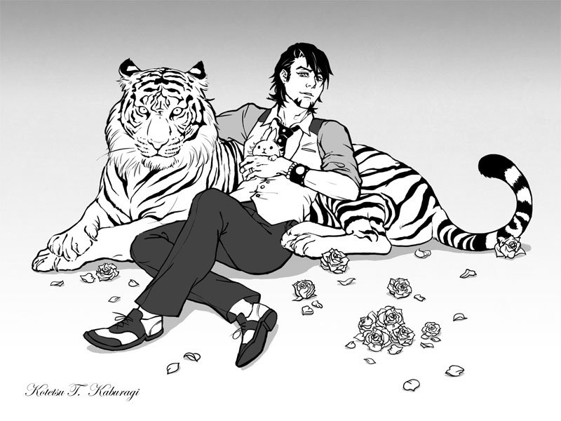 Tiger + Tiger by metalshit