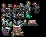 Evil Seed - Monsters
