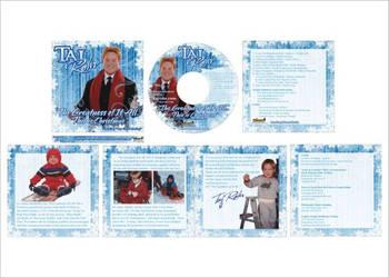Taj Rohr CD art by BryanHardbarger
