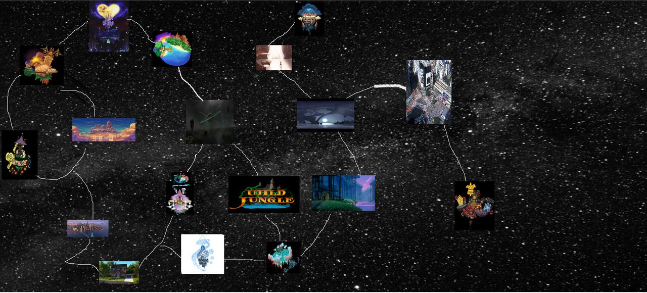 my kingdom hearts iii map by johnfanart101