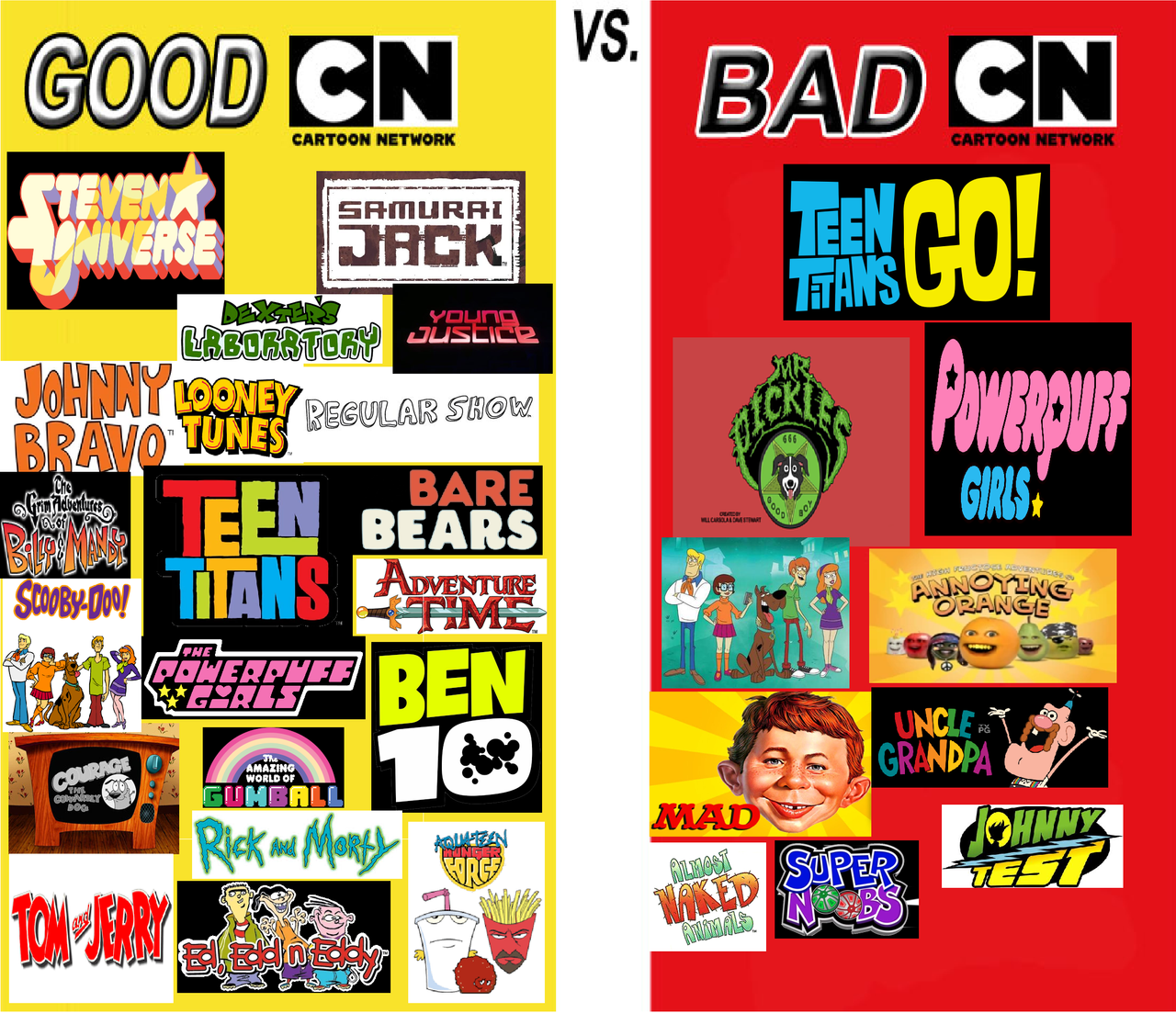 Cartoon network television shows