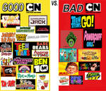 Good CN Shows vs Bad CN Shows