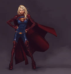 Supergirl by Ash7croft