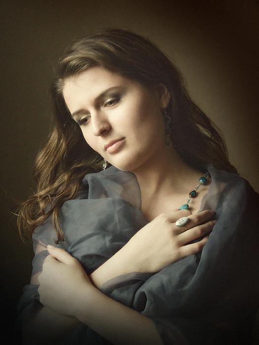 girl portrait by EmilyaManole