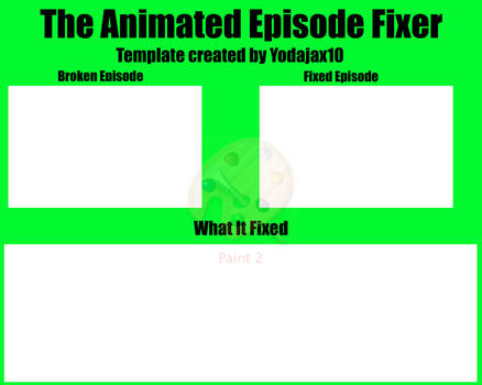 The Animated Episode Fixer