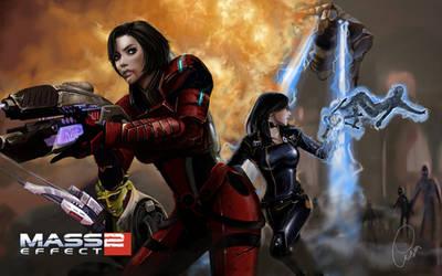 Mass Effect : Shepard by Warb1rd
