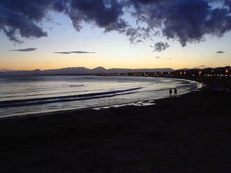 Beach by Diomhair