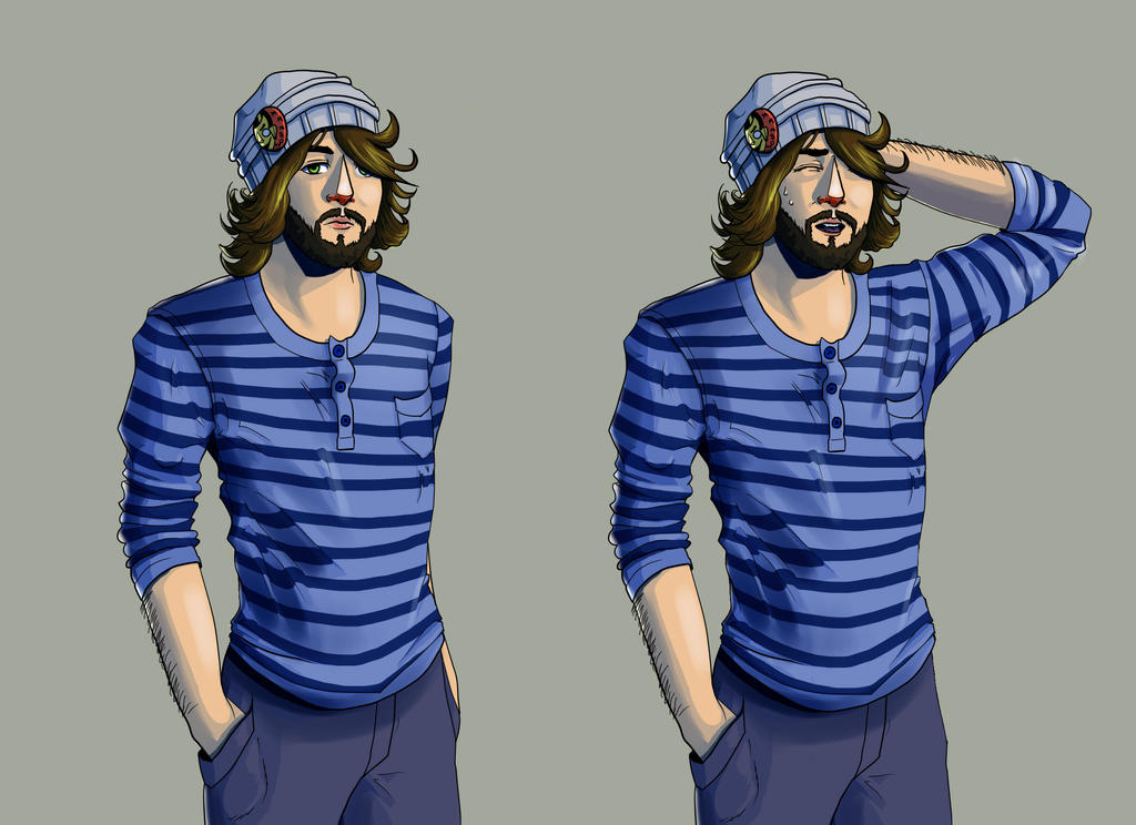 Sample Visual Novel Sprites by KirstinJHill