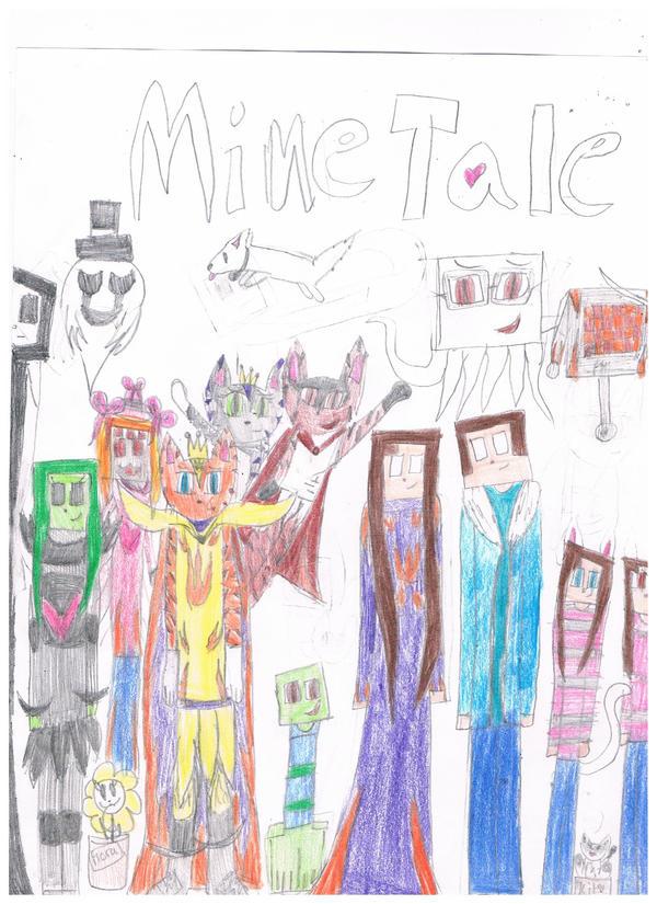 Minetale Charaters by 02YakolsFirestar