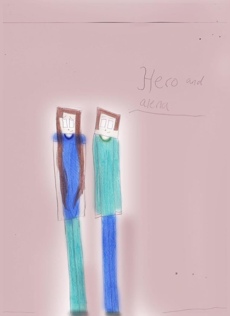 Hero And Alena by 02YakolsFirestar