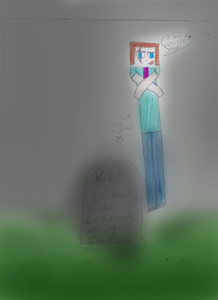 I Hate My Afterlife (minecraft) by 02YakolsFirestar