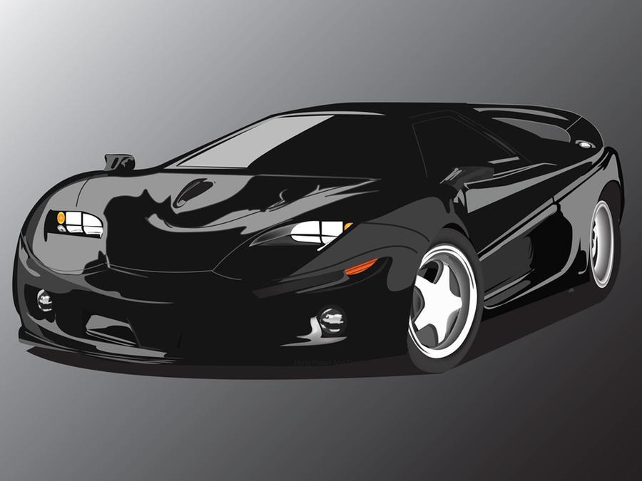 otomobil illustrasyon