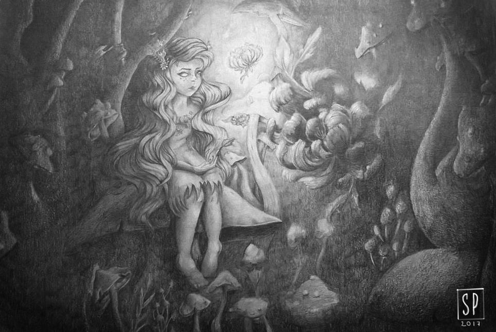Peony fairy by Soflz