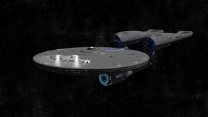 The Starship Enterprise NCC-1701