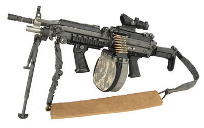 The current M249 SAW