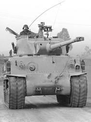 Israeli M50 Super Sherman tank