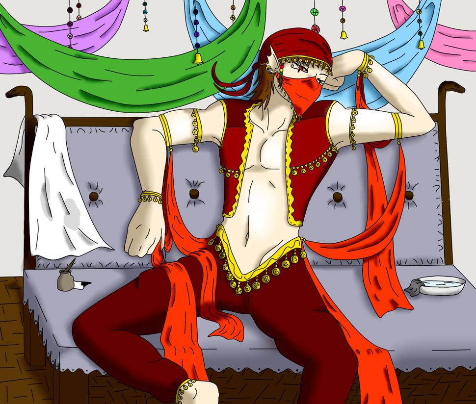 Resting dancer by ColdBlod23