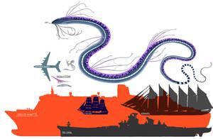 Leviathan size (sizes in description)