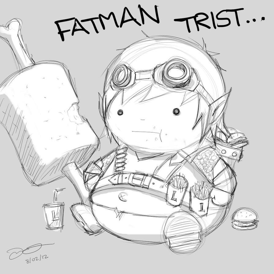Line Art Xl 2012 : Fatman tristana by pitofdonkeys on deviantart