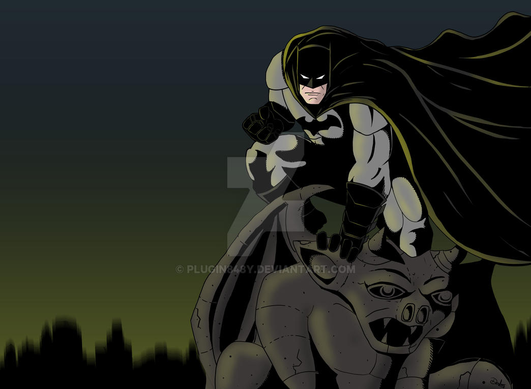 Batman by Plugin848y