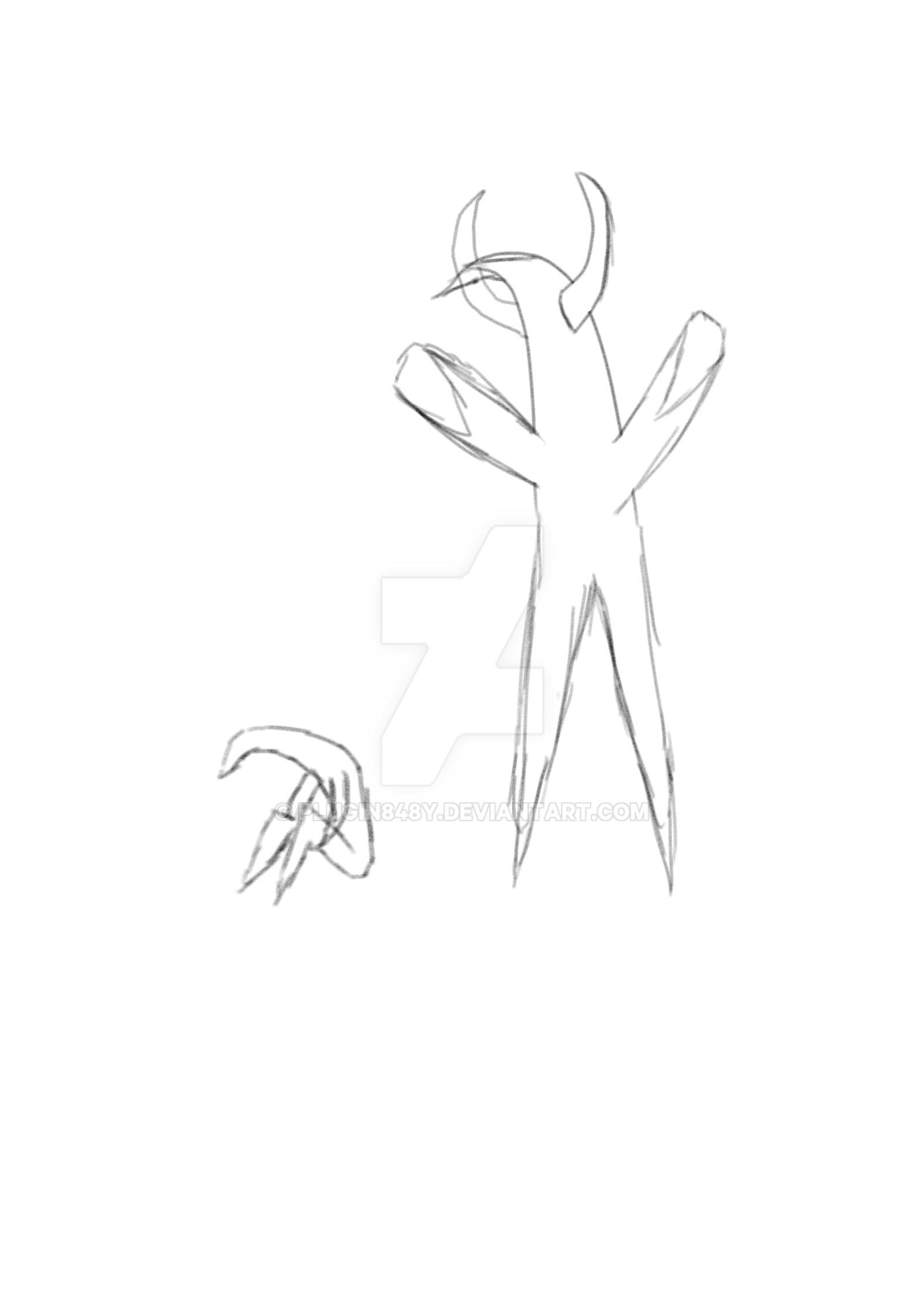 WIP 1 Demon in Star's Clothing by Plugin848y