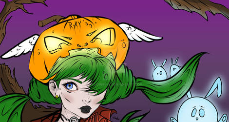 Halloween Coloring Challenge By Ryky + Plugin848y