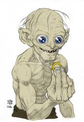 Wip 1 Gollum