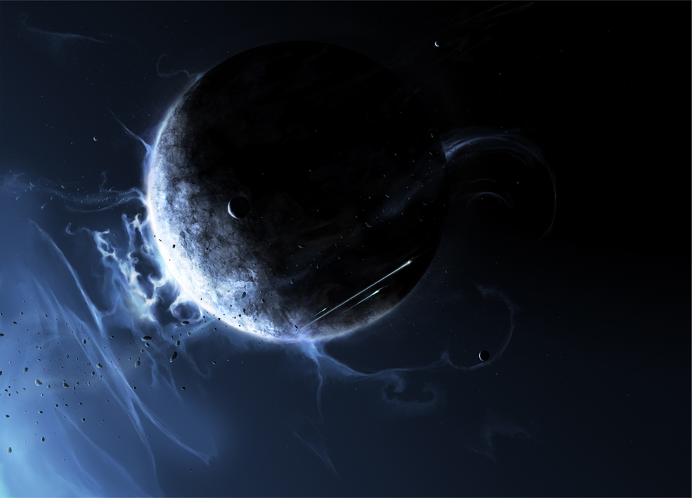 Ice Planet by ChrisCold