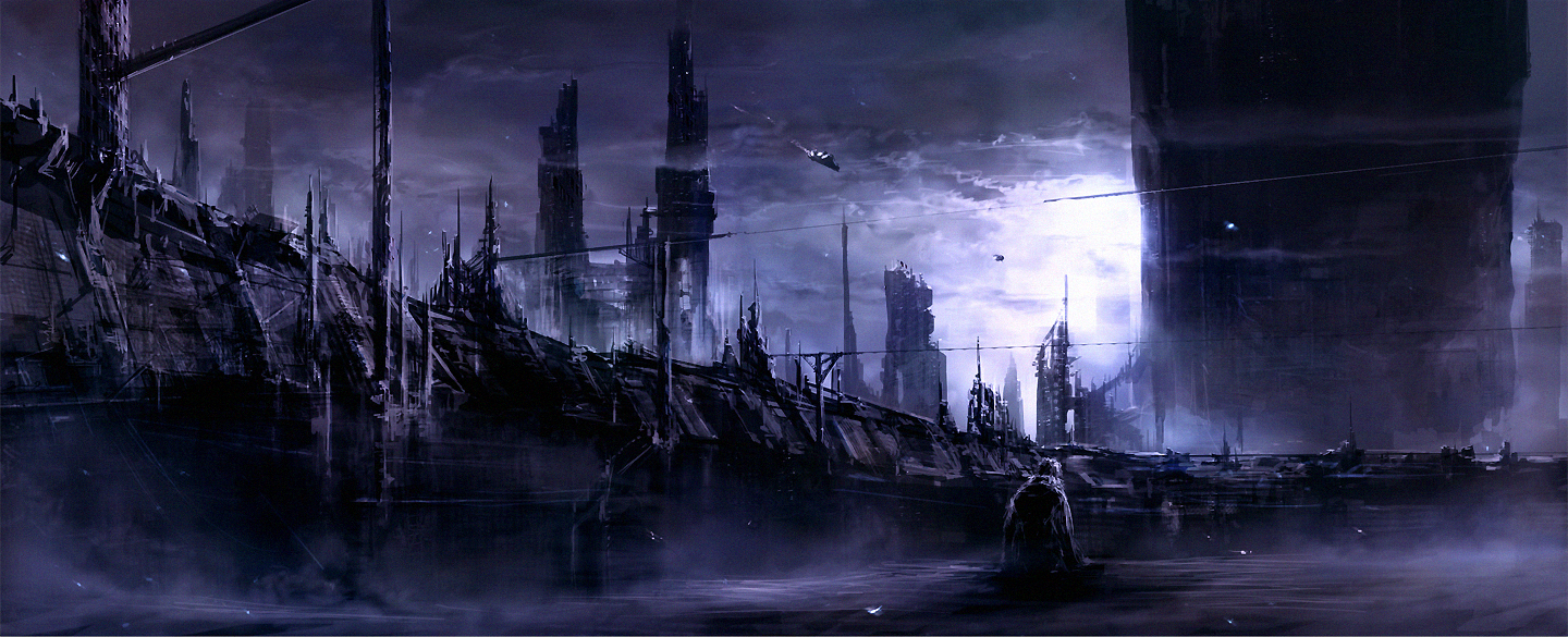 City of Sad Shadows by ChrisCold