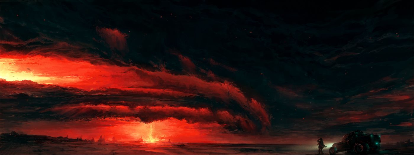 Red Sky. by ChrisCold