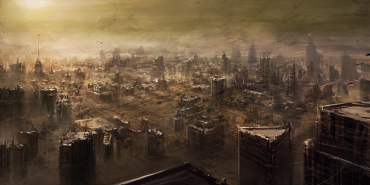 Phoenix 9: city frame by ChrisCold on DeviantArt