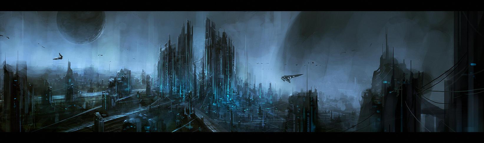 Scythe City by ChrisCold