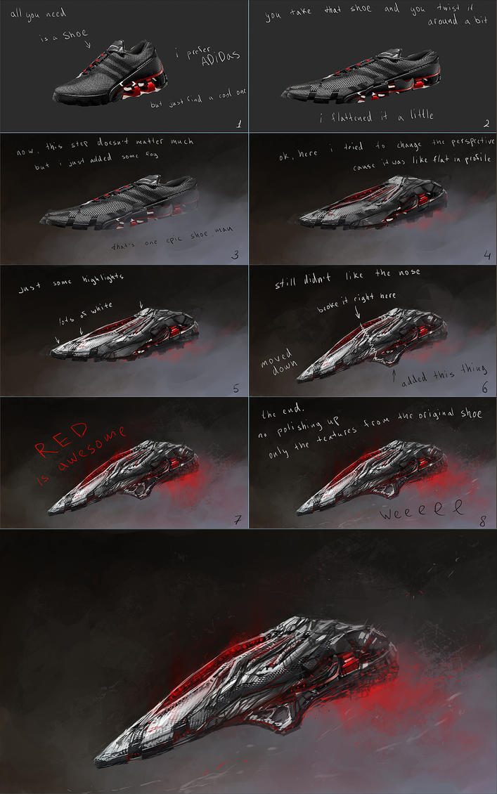 Shoe Ship tutorial by ChrisCold