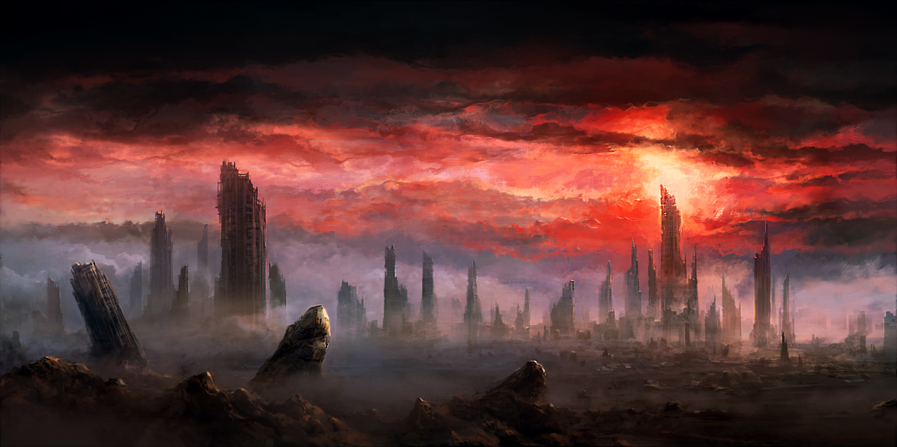 Tainted Skies by ChrisCold