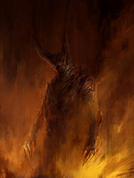 A Shadow in Flames by ChrisCold
