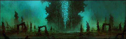 Elder's Gate by ChrisCold