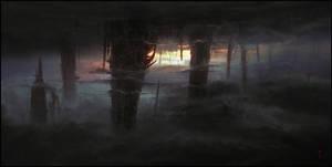 Castleworld III - Pillars by ChrisCold