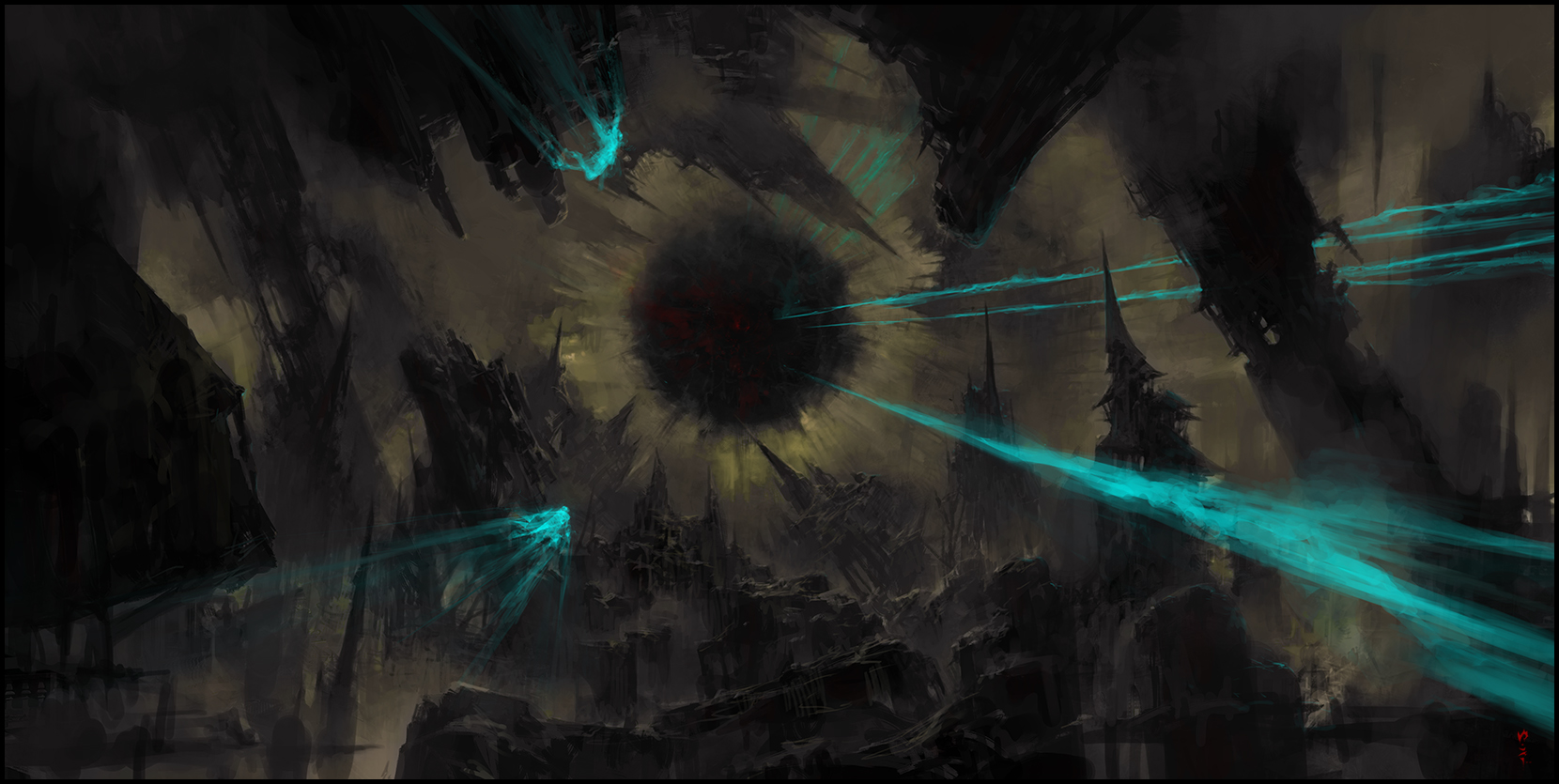 Castle World - The Black Core by ChrisCold