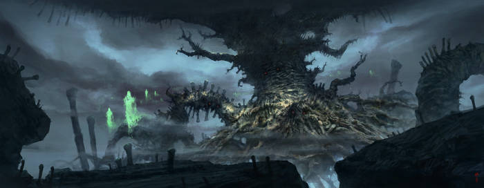 Tree of the Dead - by ChrisCold