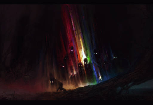 Fear of the Rainbow in the Dark