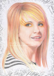 Paramore Hayley in Colour