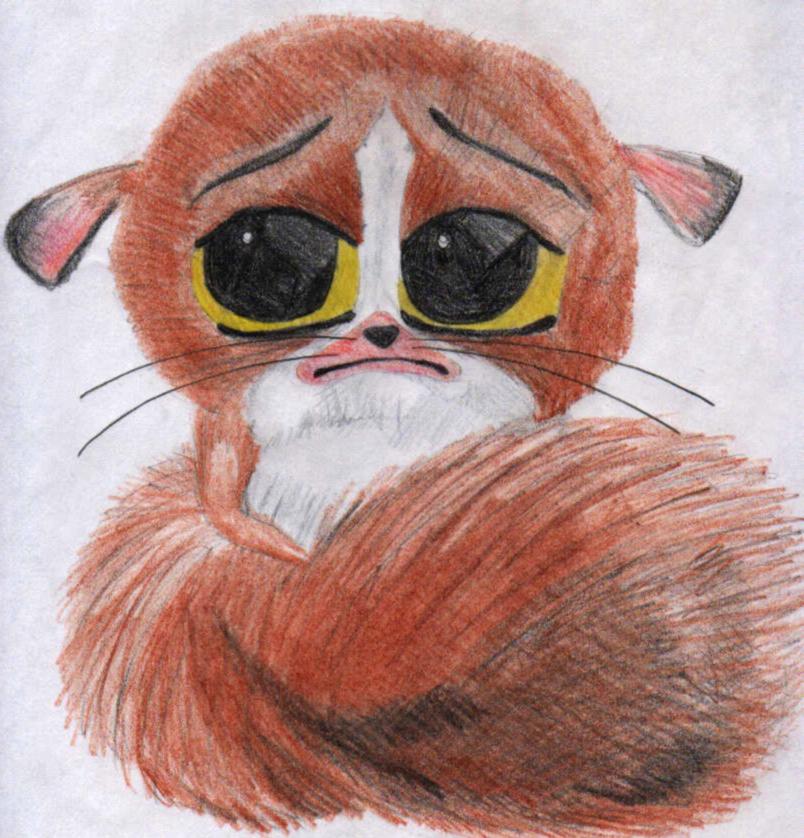 Cute Fuzzy Madagascar Thingy by ChazyChaz on DeviantArt